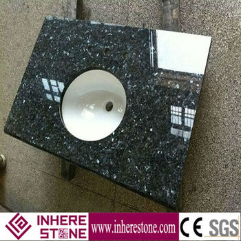 blue pearl granite for kitchen countertop bathroom vanity prices