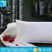 China factory price 100 polyester fiber white pillow inner