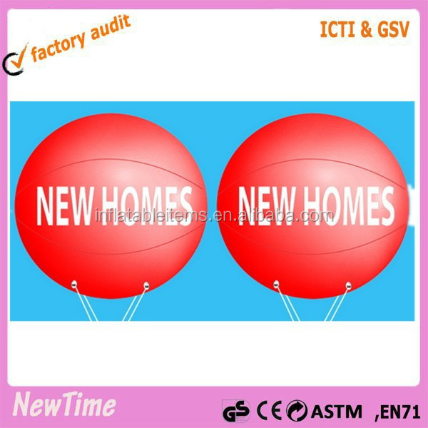 advertising air walking inflatable helium balloon