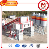 Simple to handle 2016 NEW-TECH Mobile Concrete Mixing Plant for sale with CE approved