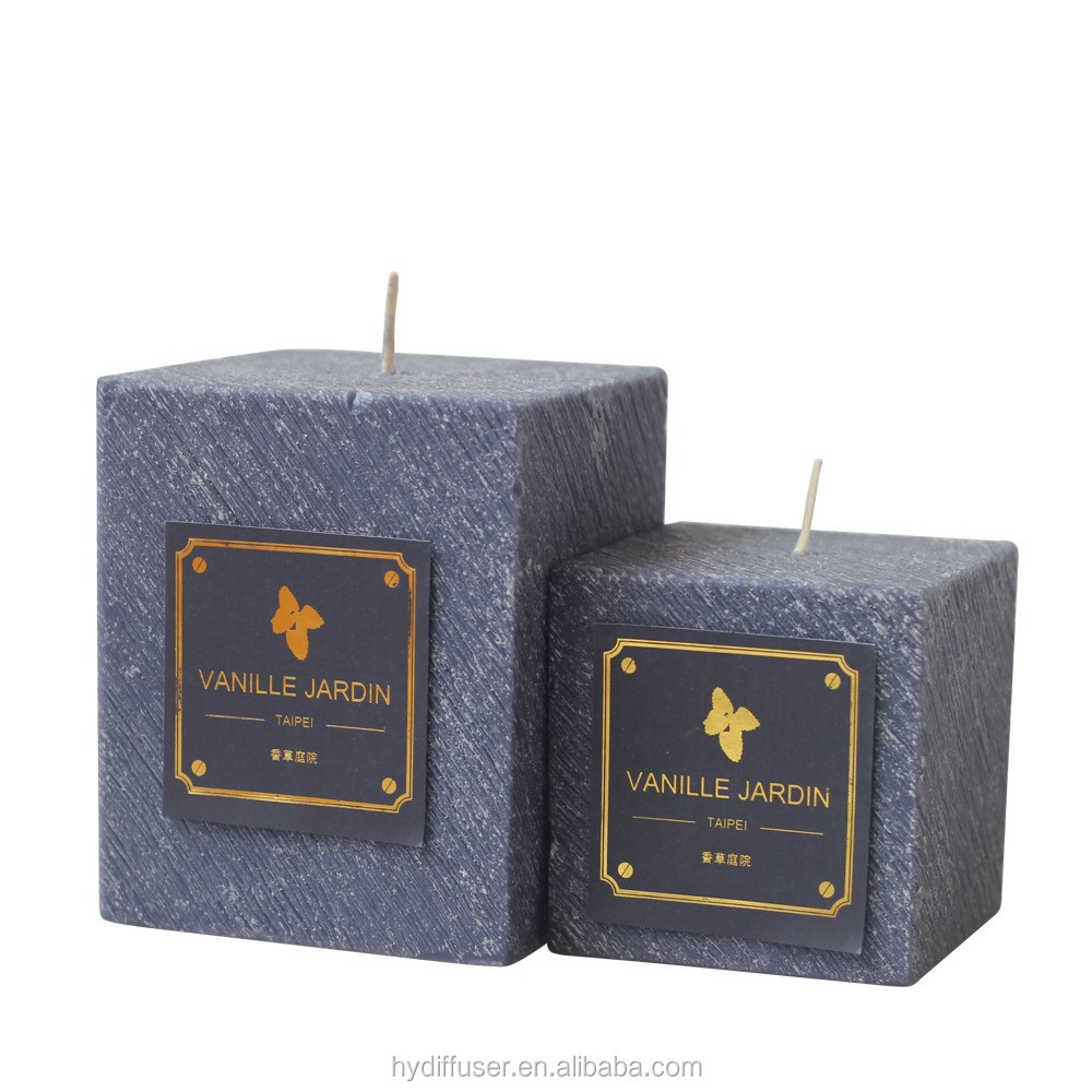 aroma scented candles for gift candels with lid