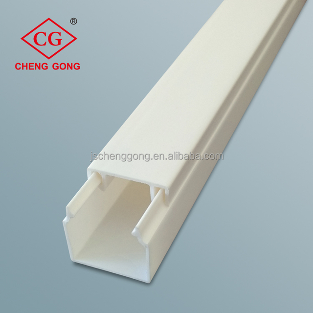China supplier full sizes PVC electrical gi trunking