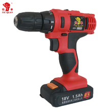 Rechargeable lithium battery 18V electric hand tool cordless drill