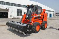 vibratory roller attachment China skid steer loader