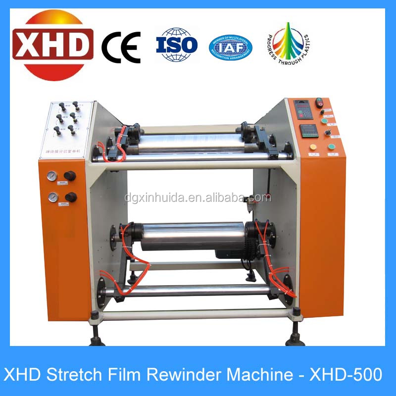 best selling semi automatic stretch film slitting machine