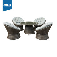 Professional mould design swivel chair, outdoor furniture, PE rattan garden sofa,