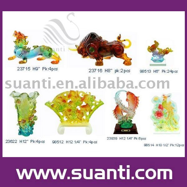 Resin feng shui factory direct gifts crafts