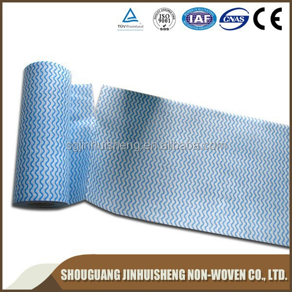 spunlace nonwoven fabric soft roll