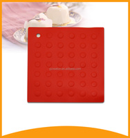 non-slip tableware heat resistant silicone pad for hot pot