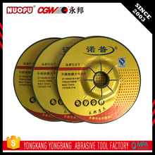 "Recommendation 4"" silicon oxide grinding wheel/disc"