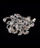 Chrome Crystal Wholesale Wall Lamp Fixture With Swing Arm