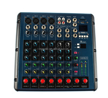 J.I.Yhot sale high quality audio dj mixer console with USB MP3 4channel powerd mixer equipment