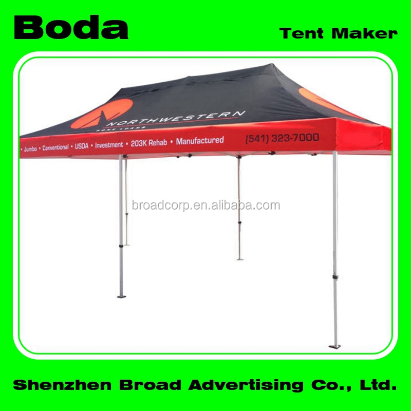 outside promotional aluminum folding canopy tent