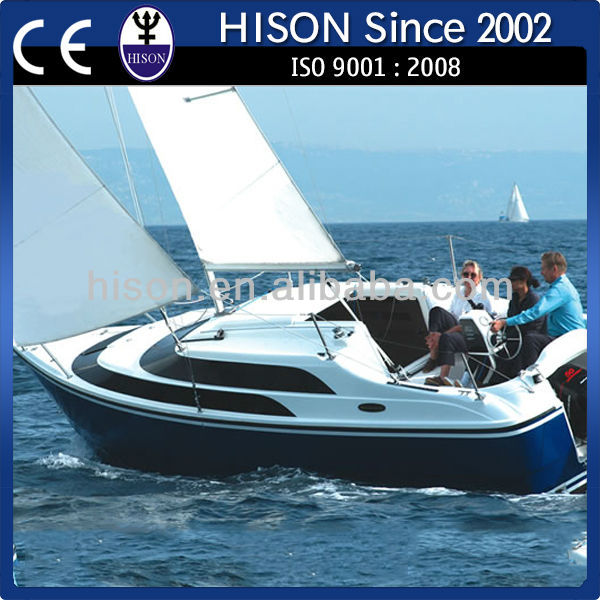 Hison economic fuel fiberglass ship