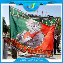 Wholesale Promotion Advertise Large Decoration Custom Polyester Outdoor Sports Flags China Supplier