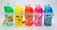 children drinking bottle