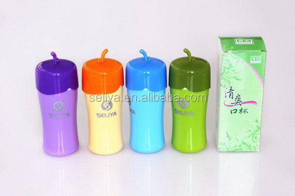 2014 hotsell custom 250ml plastic shaker bottle
