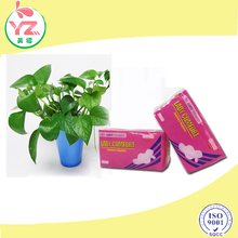 lady comfort organic cotton anion sanitary napkin