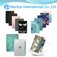 Smart Tablet Magnetic Leather Flip Folio Stand Cover Wallet Stand Case