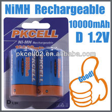 CHINA MADE 1.2V d nimh rechargeable battery A/AA/AAA/C/D/SC SIZE RECHARGEABLE BATTERY