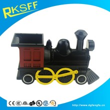 Metal train shape Money Boxes and baby love coin bank