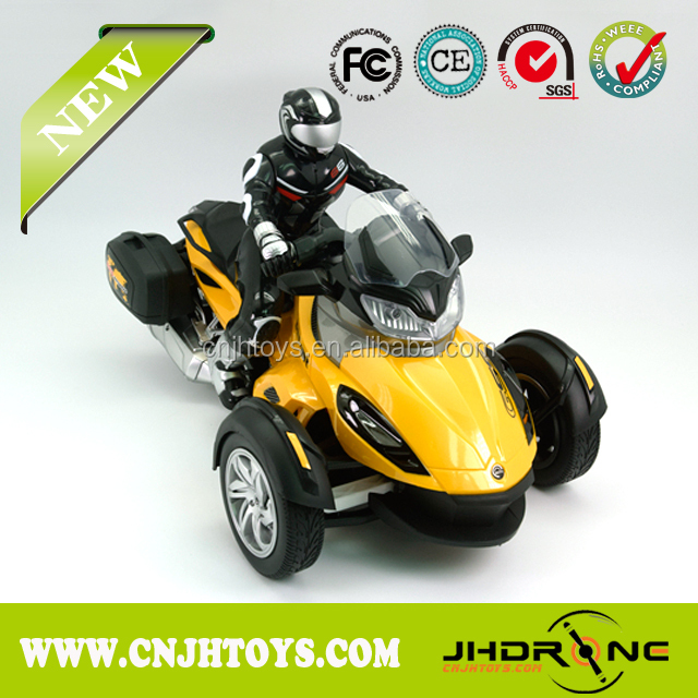 Toys 2016 2.4G 1:8 4CH RC motorcycle toy with light with battery for sale