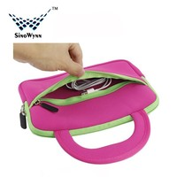 New Ultra Portable Handle Carrying Promotional Laptop Bag Neoprene Laptop Sleeve