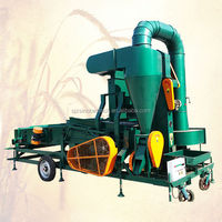 Combined wheat paddy seed cleaner machine wheat seed cleaning machine