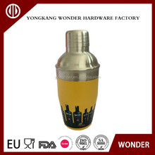 2017 china wholesale bar products stainless steel cocktail shaker oxygen cocktail mixer