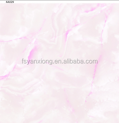 Pink color floor tile glazed,kerala vitrified floor tiles