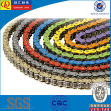 High quality colored motorcycle chain for 420,420H,428,428H,520,520H