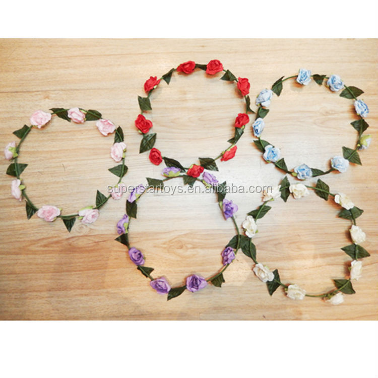 paper artificial flower garland/decoration flower garland