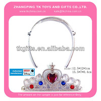 tiara and hair clasp princess set