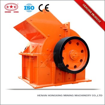 CE/ISO certficated hammer crusher mining machine for sale