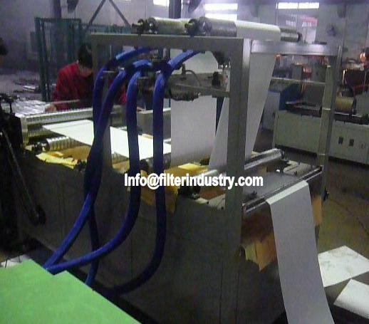 HEPA Air Filter pleating Production Line