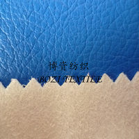 PU Coated Microfiber Leather For Shoes
