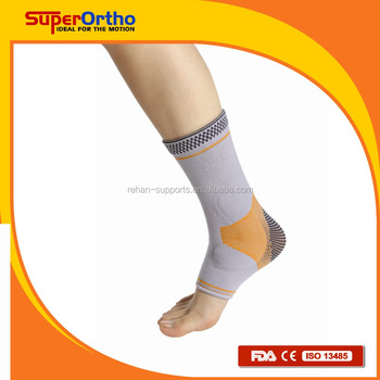 Ankle Brace- A9-017 Active Elastic Gel Pad Ankle Support