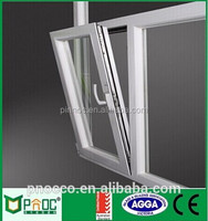 High quality window and door Aluminium profile sliding windows,Aluminium Awning Window with German Hardware PNOC0109THW