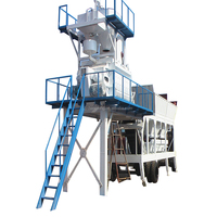 YHZS series Concrete machinery mixing plant Mobile Concrete Batching Plant for sale