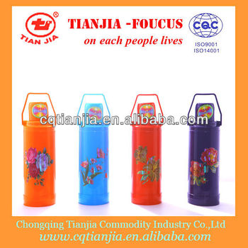 Solid Colour Paint Plastic Vacuum Flask 2L in Chongqing Tianjia