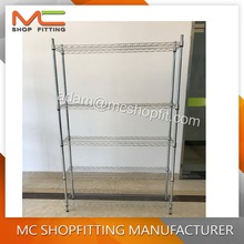 MC-WS12030, NSF approved Heavy duty chrome wire shelving