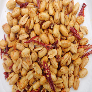 Flour coated fried spicy peanut for sale
