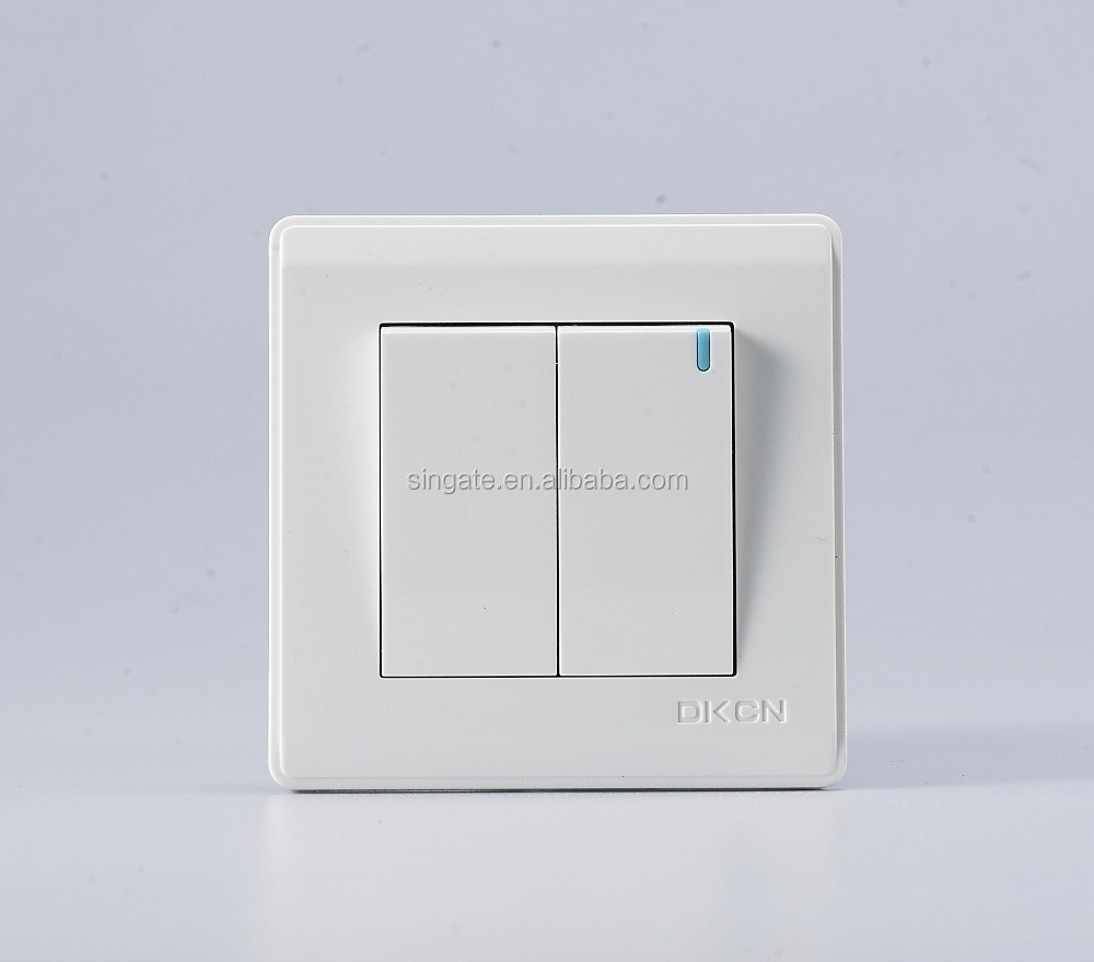 Alibaba European Pressure Two Gang Two Way Touch Lighting Wall Mini ...