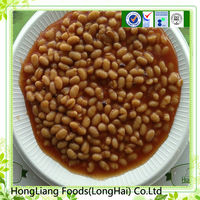 Tasty Canned beaked beans in tomato paste