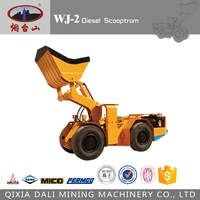 underground tunnel mining chinese articulated load haul dump