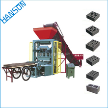Brick From Used Foaming Eco Soil Concrete Hollow Block Machine Price In India