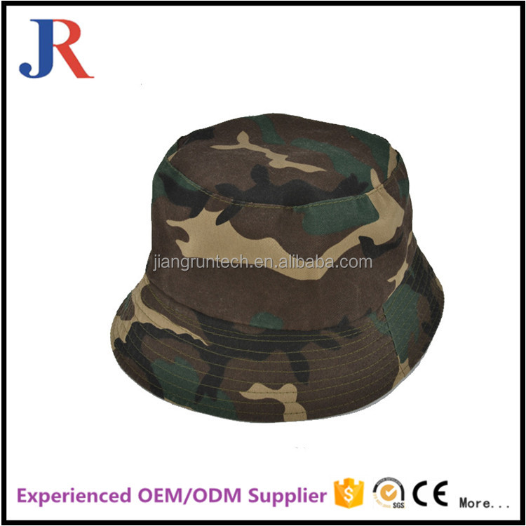 design your own Cowboy fisherman Camouflage Fedora Bucket Hat