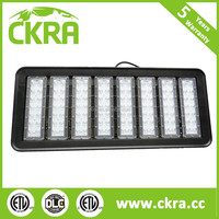 120-277 Voltage IP66 Rated Natural Light 5000K LED High Bay Utility Light Industrial Lamps Black / White finish