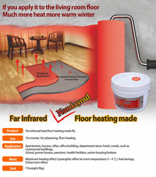 Infrared Floor Heating Paint
