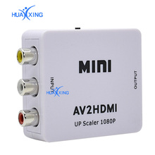 AV2HDMI Upscaler 1080P AV RCA to HDMI VIDEO CONVERTER